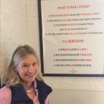 Real food restaurant in China! Janie believes the same and Rural Organics is certified organic!