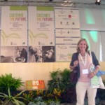 Janie at World Organic Congress 2008
