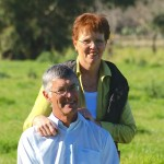 Leanne and Alan Wood, Milawa