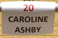 Carloline Ashby, no-20