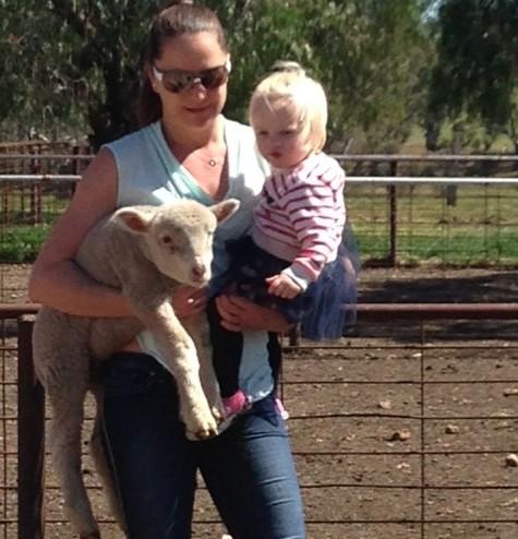 Lamb, Alice and Grace.E