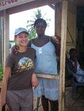 Anika Molesworth in Africa