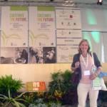 Janie at World Organic Congress 2008