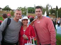Tully, Caroline & Johnny - Team Kaboom