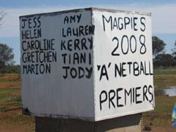 Premiership billboard, country-style